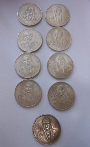 Monedas De Plata De 100 Pesos Morelos Ley
