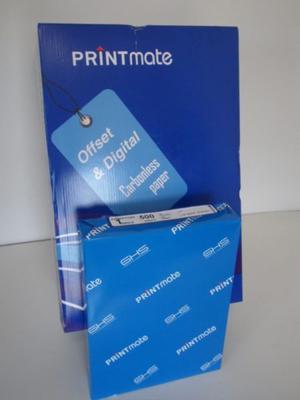 Papel Autocopiante Caja  Hojas Cb Carta Printmate