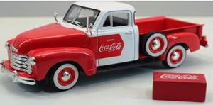 Coca Cola Escala 1:24 Chevy Pickup  Coleccion