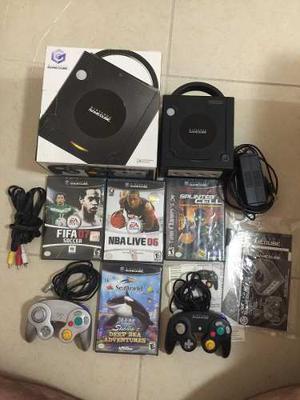 Consola Game Cube, 4 Juegos, Dos Controles, Envío Gratis