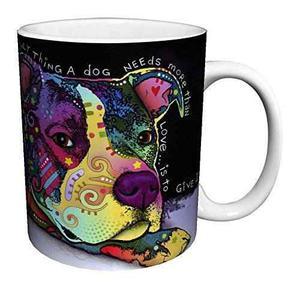 Dean Russo Amor Del Perro De La Cita Animal Moderno Del Arte