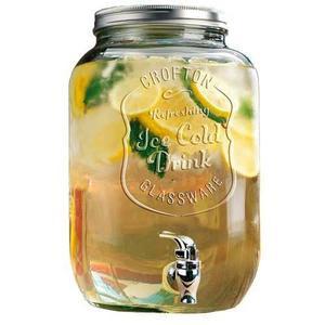 Dispensador De Agua Mason Jars Original Bebidas 8 L