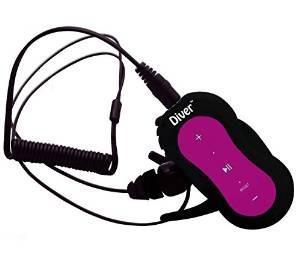 Diver (tm) Reproductor De Mp3 A Prueba De Agua. 4 Gb. El Kit