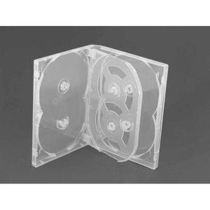 Estuche Confort Para 6 Discos Transparente