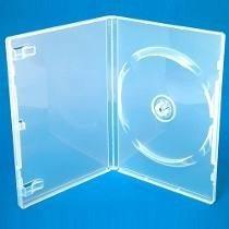 Estuche Confort Transparente Sencillo 14mm 100 Pzs