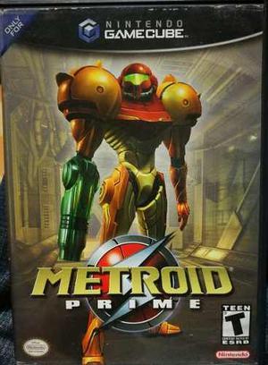 Game Cube - Metroid Prime Usado
