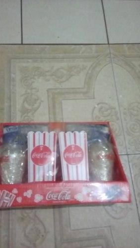 Kit Pop Corn Coca Cola Vasos