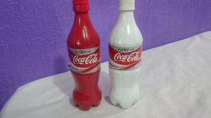 Lote 2 Botellas Coca Cola Edicion Especial Muy Raras