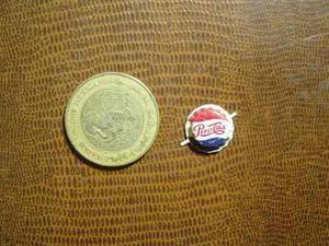 Mini Corcholata De Refresco Pepsi Cola Pin Lámina