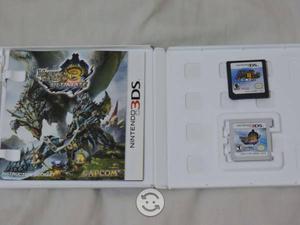 Monster Hunter 3 Ultimate y Super Mario 64 DS