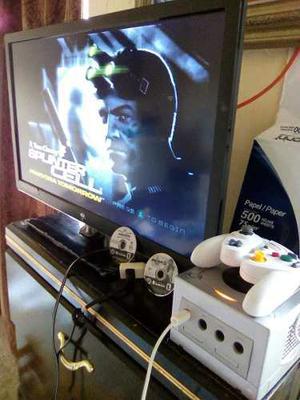 Nintendo Game Cube + 2 Juegos