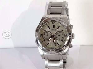 Reloj guess acero inoxidable,original,cronos,impon
