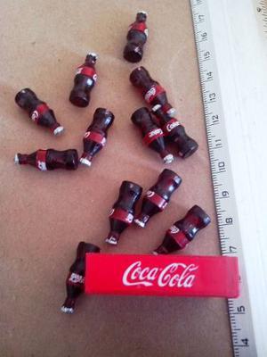 Set De 5 Mini Rejitas De 12 Coca Cola Miniatura Cada Una