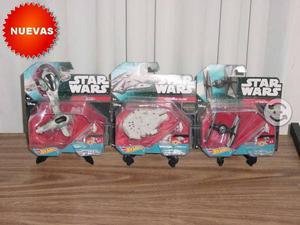 Star wars hot wheels naves lote precio x las 3
