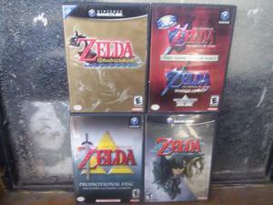 The Legend Of Zelda 4 Juegos Completo Caja Disco Y Manules