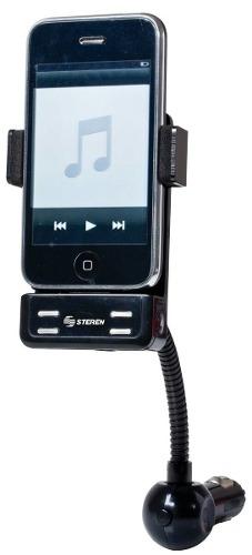 Transmisor Fm Automotriz 3 En 1 Compatible Con Ipod Y Iphone
