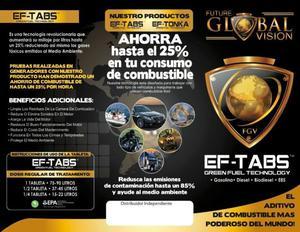 AHORRADOR DE GASOLINA EF-TABS USA. EN CAMPECHE