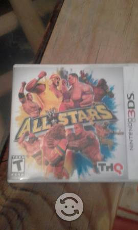 All stars WWE 3ds