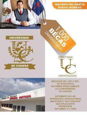 BECAS UNIVERSIDAD CHIAPAS