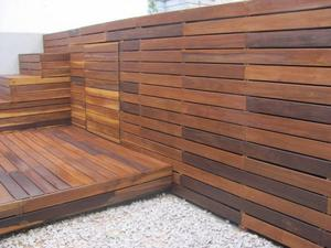 Deck madera de Teca, CUMARU, IPE