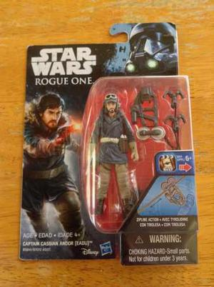 Figura Star Wars Rogue One Ola Nueva Cap Cassian Andor 3.75