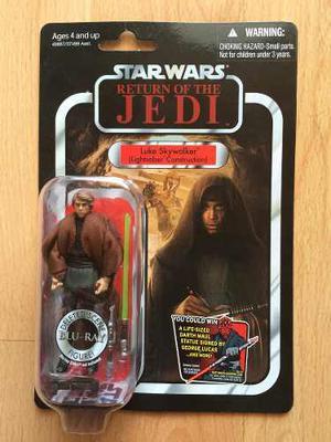 Figura Star Wars Vintage Luke Skywalker Lightsaber Construct