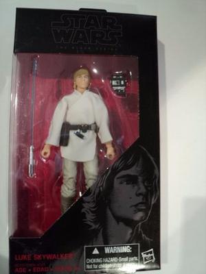 Hasbro Star Wars, Black Series 6, Luke Skywalker # 21