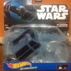 Hot Wheels Nave Star Wars Tie Advanced Prototype Darth Vader