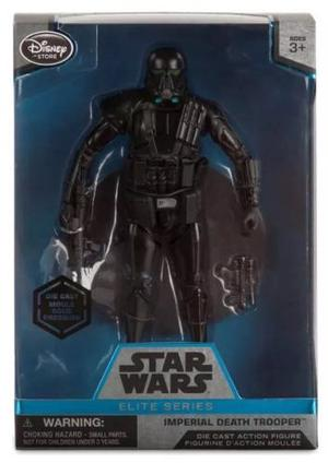 Imperial Death Trooper Star Wars Elite Series Diecast Metal