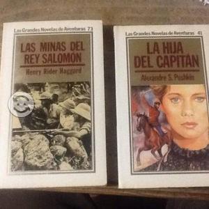 Las minas del rey y la hija del capitan 2 libros