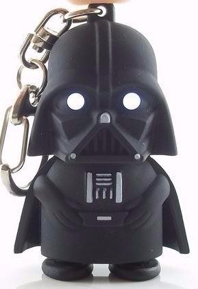 Llavero Mini Vader Darth Vader Luz Led Sonido,de Colección
