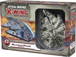 Millennium Falcon Starwars Xwing Miniatures Halcon Milenario