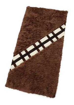 Star Wars Chewbacca Alfombra De Lujo Grande 240cm X 120cm