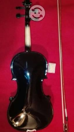 Violin negro 4/4 Infinity con estuche y arco