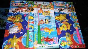 Juego De Pesca De Agua Nuevos Kit De 11 Pzas + Envio