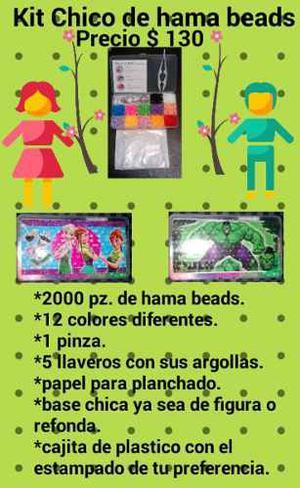 Kits Chico De Hama Beads O Perler Beads Nuevos Y Baratos