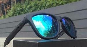 Lentes De Sol Originales Hawkers Carbon Black Clear Blue One
