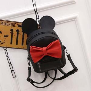 Mochila Mickey Minnie Mouse Bolsa Con Orejas Envio Gratis