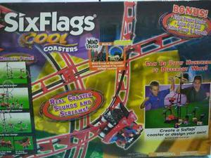 Six Flags Cool Coasters. Montaña Rusa Electrica, Con