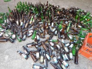 Venta de envases de cerveza