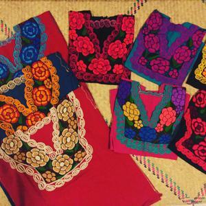 Blusas zinancantecas de manta $