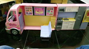 Casa rodante de barbie