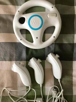 Controles De Wii, Nunchuk