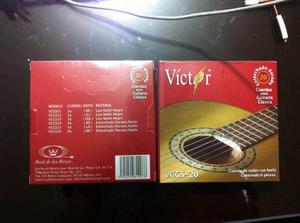 Cuerdas Para Guitarra Clásica Victor