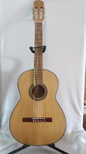 Guitarra De Cedro Blanco Con: Funda, Talit, Pua. Rondallera!