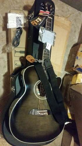 Guitarras De 6 Cuerdas Electroacusticas Oscar Schmidt Nuevas
