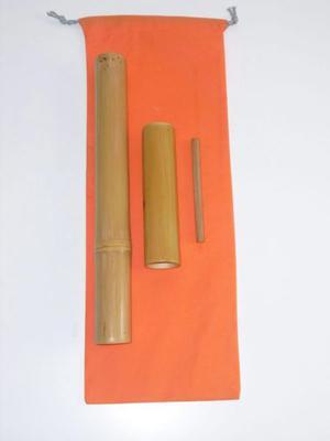 Juego tres Varas Bambú Europeas