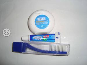 Kit cepillo, pasta e hilo dental 50 metros oral B