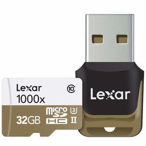 Memoria 150 Mbs Lexar Microsd 32 Gb Cámara Acción Gopro 4k