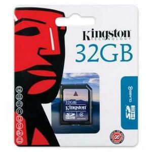 Memoria Kingston Sd 32 Gb Con Adaptador